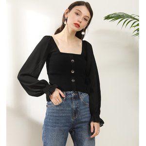 NWOT Chiffon Sleeved Cardigan Sweater Cardigan